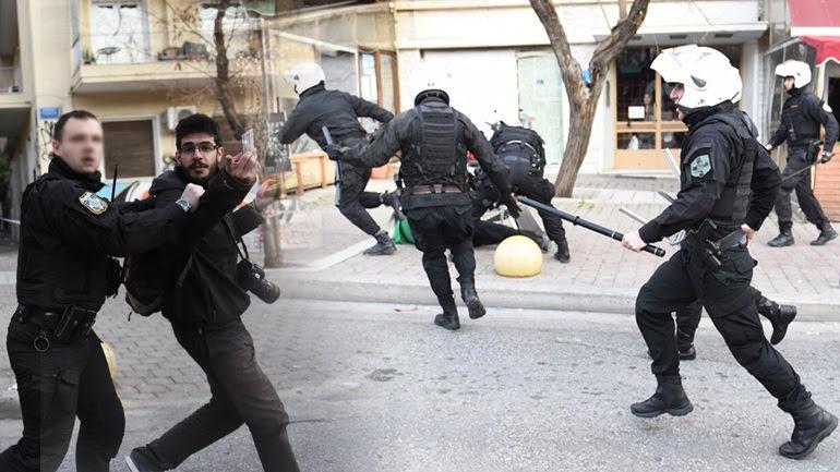 Oι μπάτσοι του ΣΥΡΙΖΑ