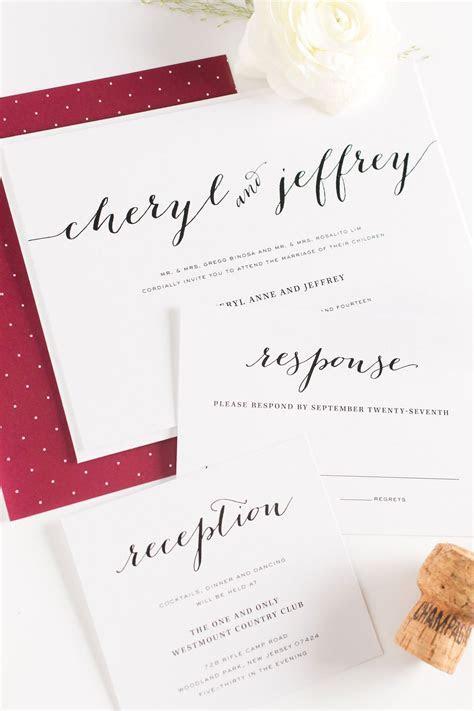 Burgundy Wedding Invitations ? Wedding Invitations