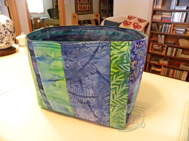 DSCN2353 Medium Fabric Basket