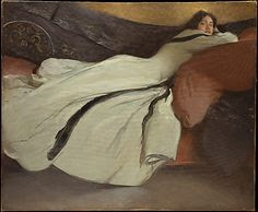 Repose, John White Alexander: http://is.gd/r94zix [Lines and Colors previous post: http://is.gd/pEG4rq ] View fullscreen and zoom or download.