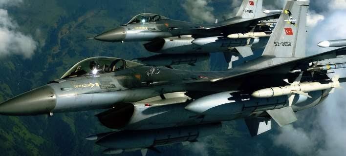 Χωρίς τέλος οι τουρκικές παραβιάσεις πάνω από το Αιγαίο -Την Καθαρά Δευτέρα έγιναν 42