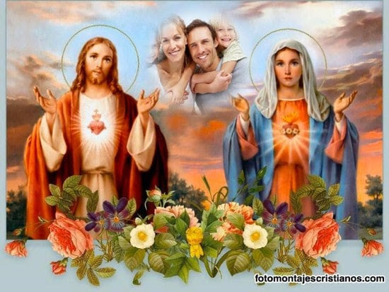 Imagenes De Jesus Y La Virgen Maria Imagui