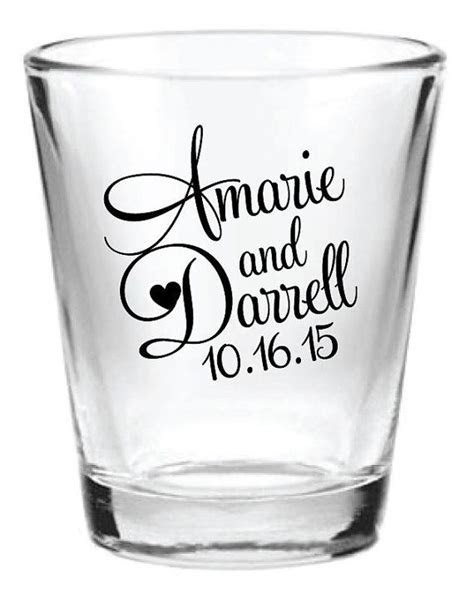 Best 25  Wedding shot glasses ideas on Pinterest   Wedding