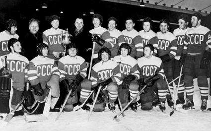 1954 Soviet Union hockey team photo 1954 Soviet Union hockey team.jpg.png
