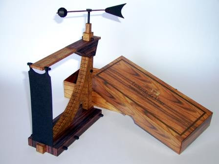 da Vinci Anemoter Papercraft