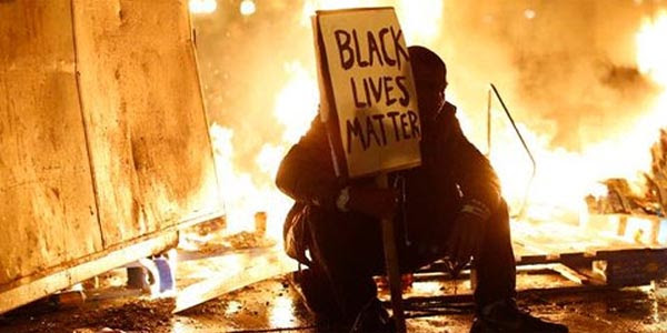 Protests turned violent after Officer Darren Wilson was not indicted in the shooting death of Michael Brown.