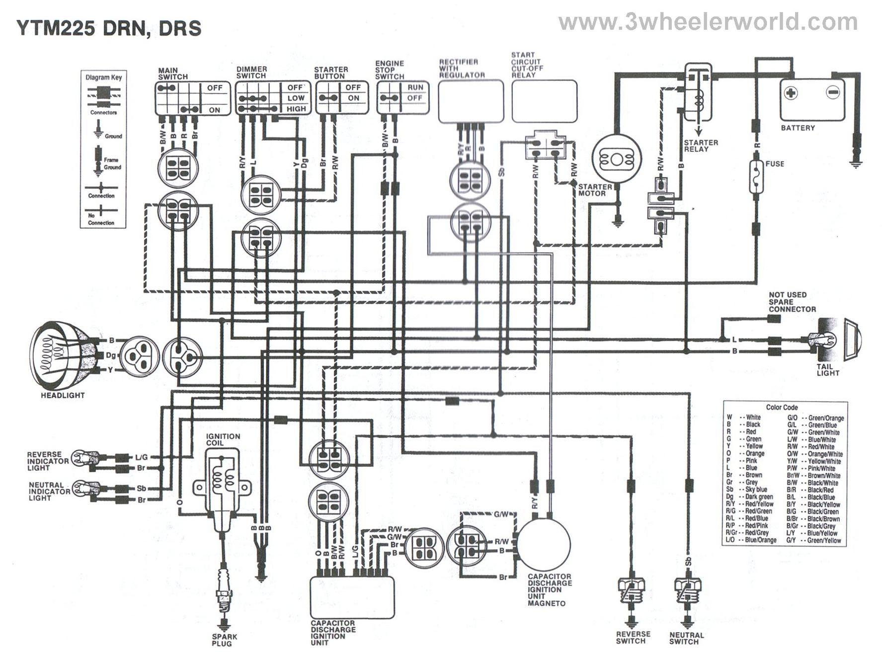 72cm yamaha 4 wheeler wiring diagrams image 6
