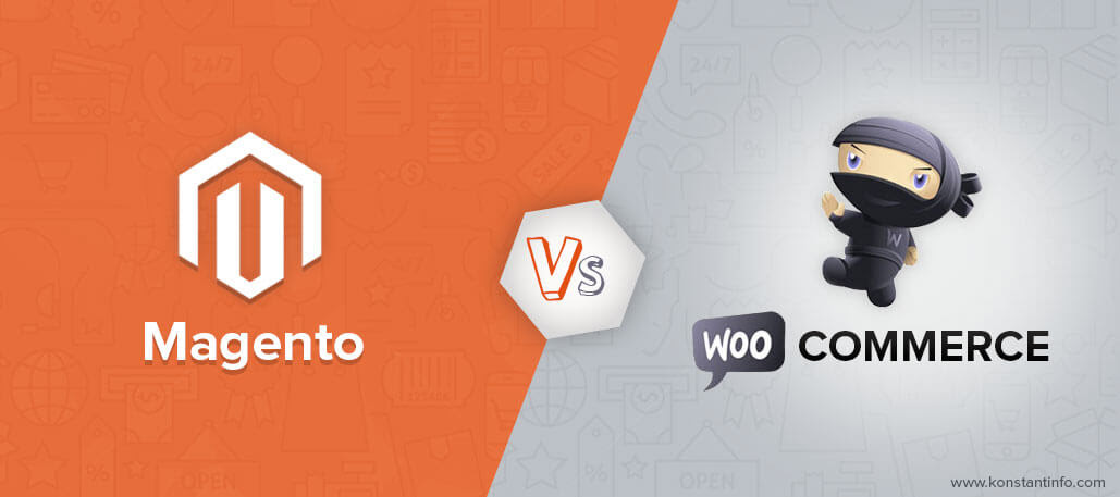 magento and woocommerce