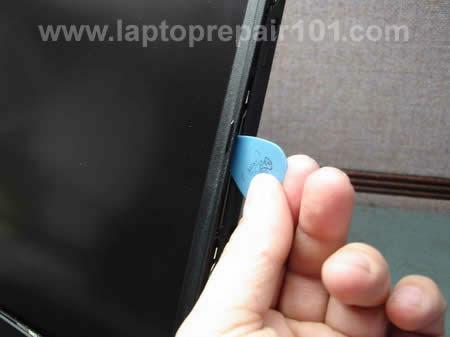 Removing LCD bezel