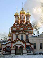 Церковь Николая Чудотворца, в Берсеневке. Фото: hram.codis.ru