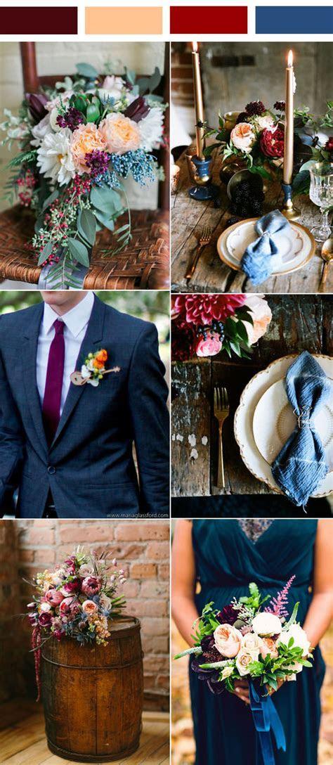 35 Inspiring Burgundy and Peach Wedding Ideas for 2017