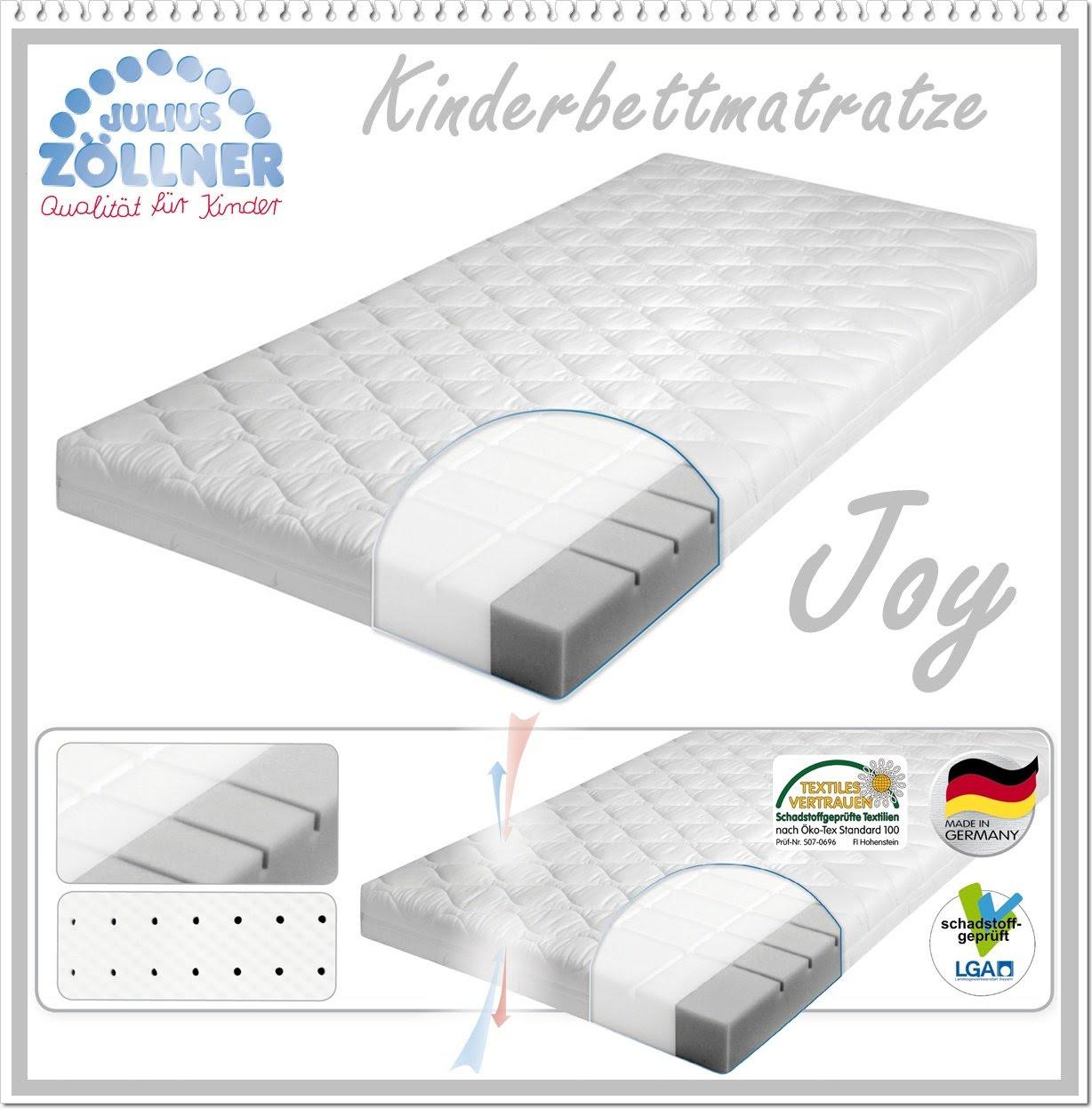 julius z llner 7450200000 babymatratze joy 70 x 140 cm. Black Bedroom Furniture Sets. Home Design Ideas