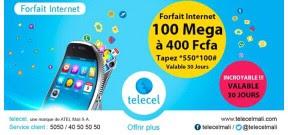 Paramètre de configuration Internet Telecel Mali