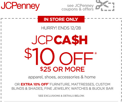 jcpenney mobile coupon  off on