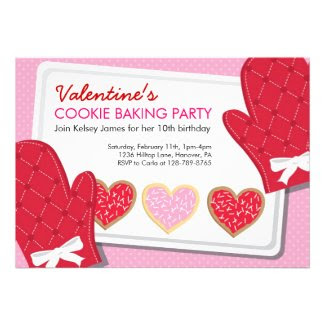 Valentine's Day Party Invitations