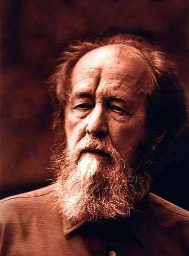 """excerpt from: """"Live not by Lies"""" by Alexander Solzhenitsyn """"On any given day any one of us will be confronted with at least one of the above-mentioned choices even in the most secure of the technical sciences. Either truth or falsehood: Toward spiritual independence or toward spiritual servitude. And he who is not sufficiently courageous even to defend his soul—don't let him be proud of his """"progressive"""" views, don't let him boast that he is an academician or a people's artist, a merited figure, or a general—let him say to himself: I am in the herd, and a coward. It's all the same to me as long as I'm fed and warm."""""""