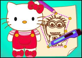 Hello Kitty Yüz Boyama Oyunu Türkçe Oyunlar