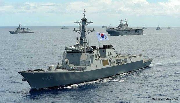 Inilah Kapal Perusak Korea Selatan untuk Hadapi Korea Utara dan Tiongkok