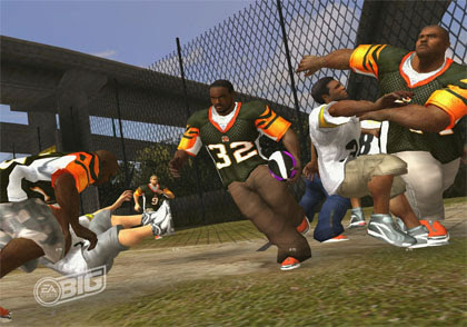 NFL Street 3 Review for PlayStation 2 2006  Defunct Games
