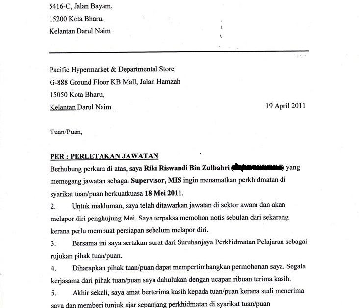 Contoh Surat Rasmi Hak Penjagaan Anak - JobsDB