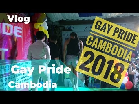 សប្ដាហ៍មោទនភាព Gaypride Cambodia a night at the Blue Chilli bar