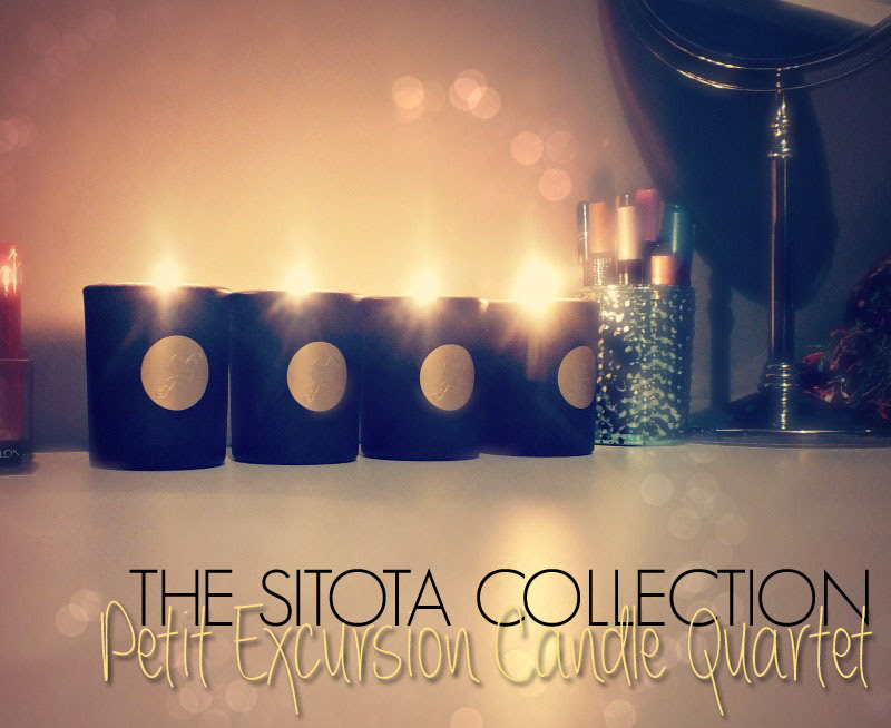 Sitota Collection Petit Excursion Candle Quartet (3)