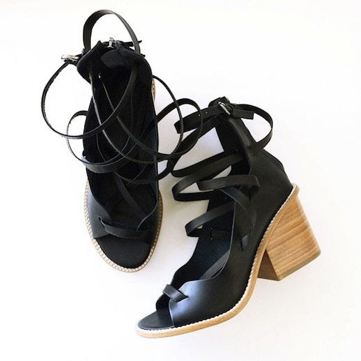 Le Fashion Blog Instagram Tibi Finch Sandals Block Heel