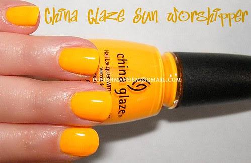 China Glaze Sun Worshipper