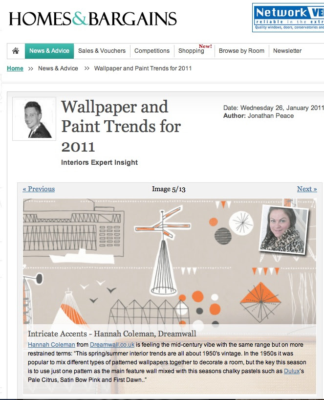 Homes  Bargains Wallpaper and Trends Forecast 2011  Dreamwall Style Blog
