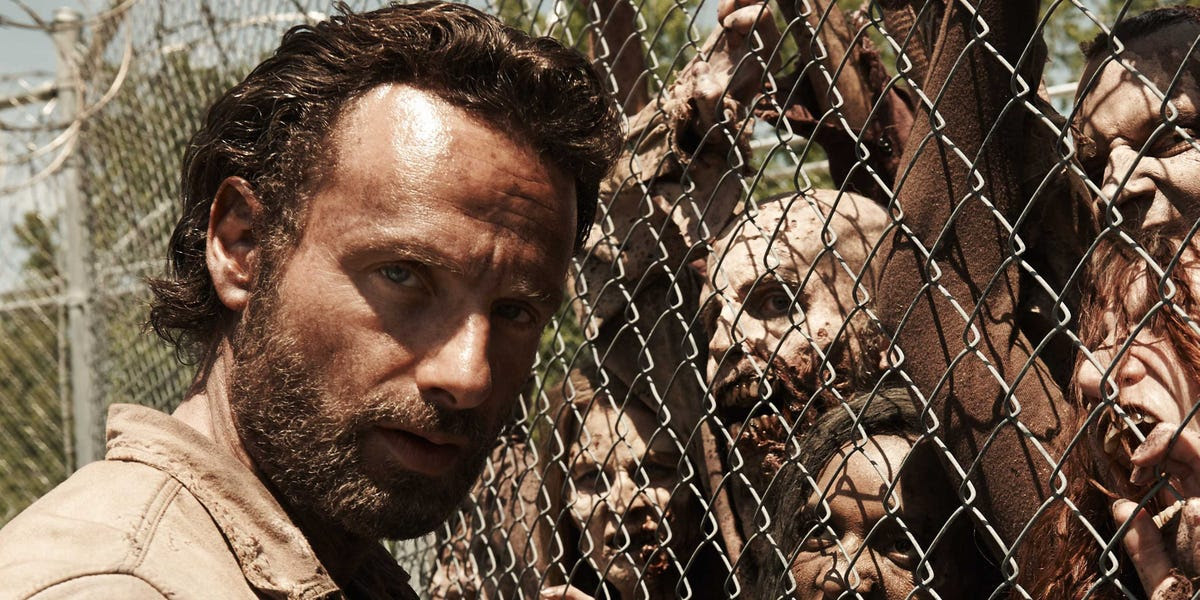 the walking dead season 4 rick grimes