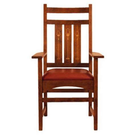 harvey ellis arm chair  inlay