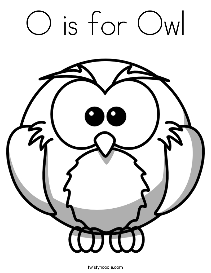 Owl Coloring Pages Preschool - Coloring Home