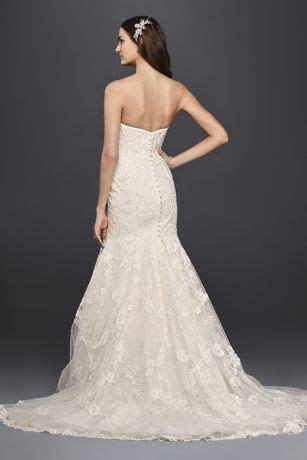 Corset Bodice Mermaid Lace Wedding Dress   David's Bridal
