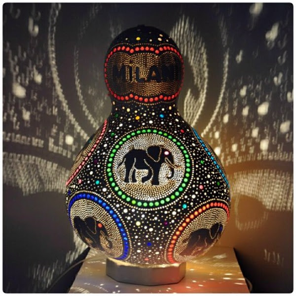 Amazing Art Inspired Gourd Lamps (27)