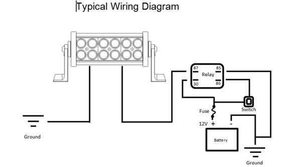Light Bar Wiring Diagram Wiring Diagram