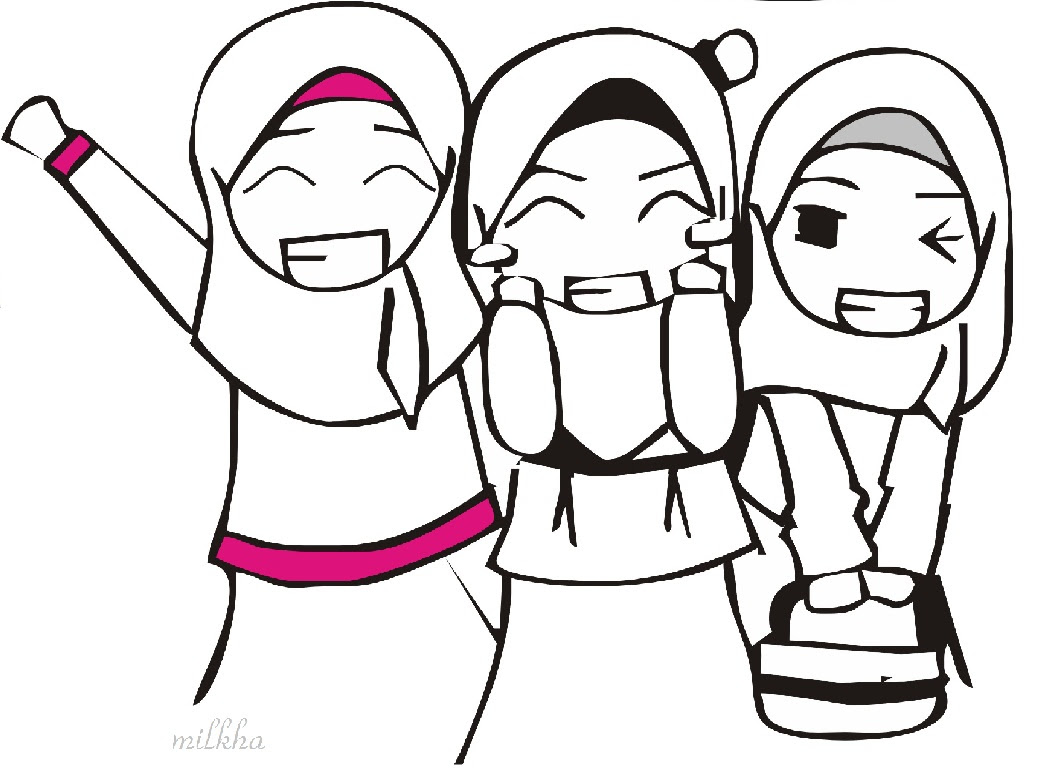 85 Gambar Animasi Persahabatan