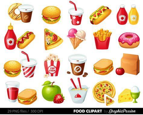 Fast Food Clipart Hamburger Clip art Coffee clip art Food
