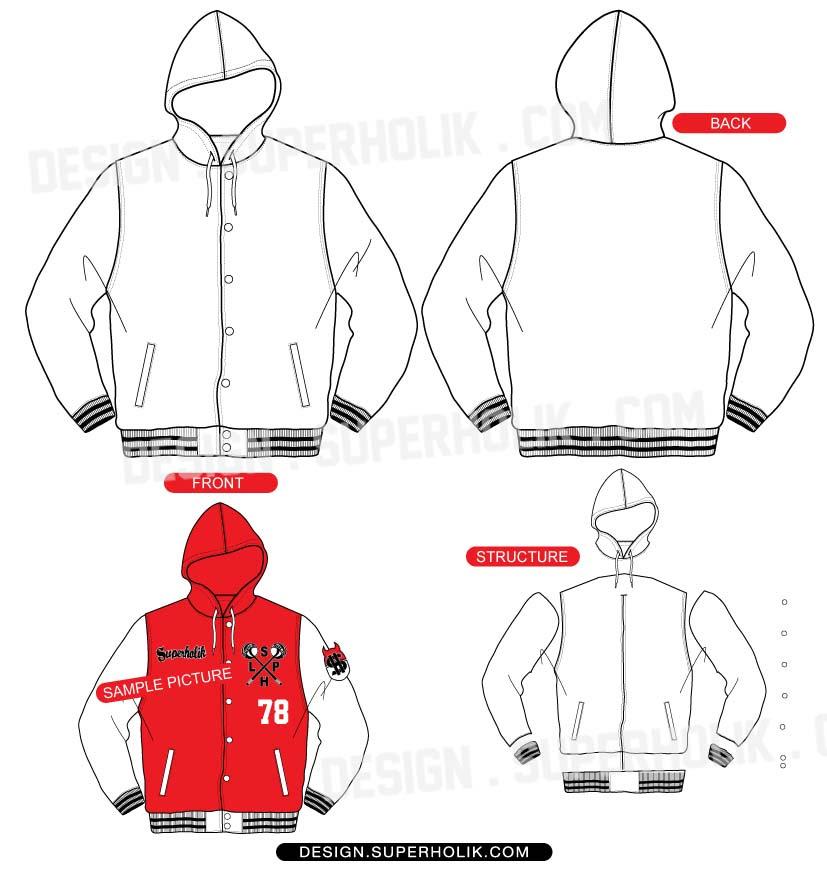 44+ Design Jacket Vector HD