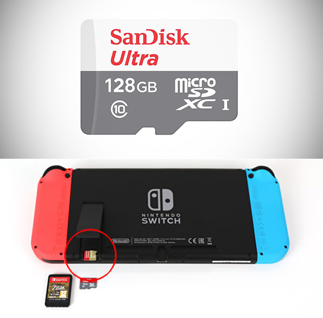 Sandisk 128gb Class 10 Microsd Card Is Perfect For The