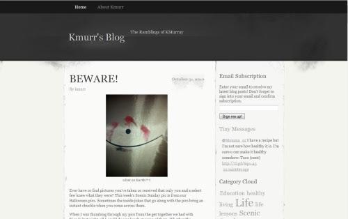 KMurr's Blog