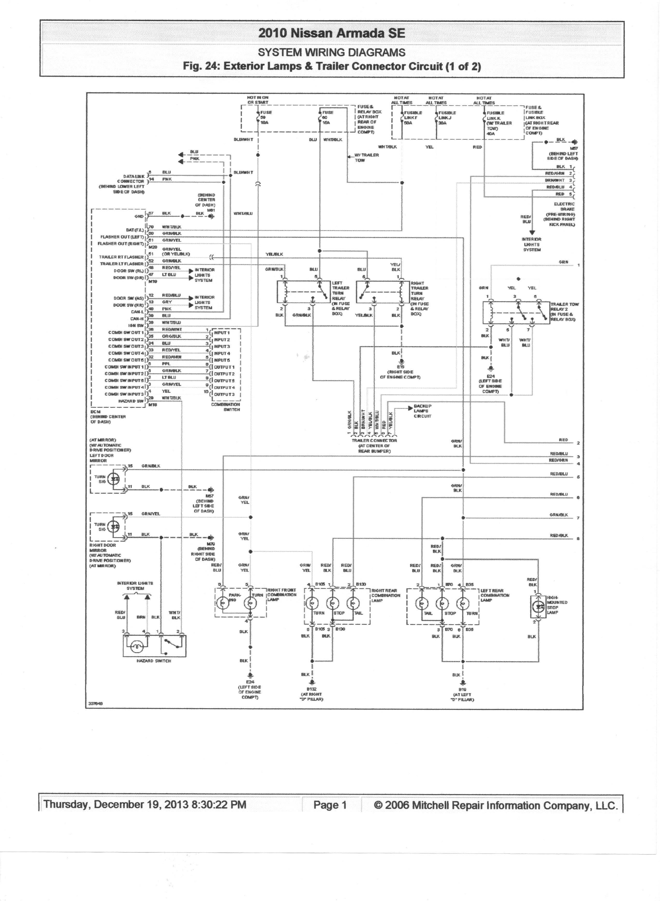 2006 Nissan Maxima Fuse Diagram