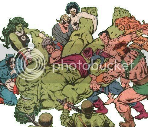 Hulk e Banner separados