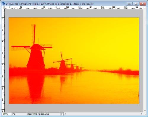 Atardeceres y Amaneceres en Photoshop - Paso 5