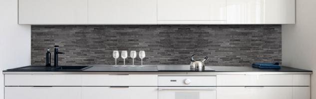 Kuchenruckwand Auf Fliesen Kleben Alternative Zu Fliesen Kuchenspiegel Aus Glas Edelstahl