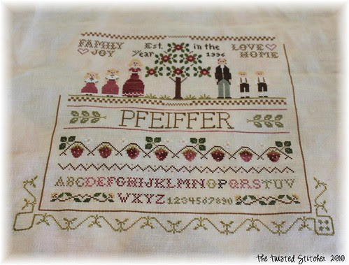 Family Sampler 1- In Progress