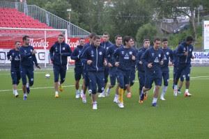 Донецкий Металлург готовится к матчу С Тромсе
