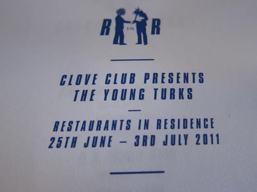 The Clove Club vs Young Turks