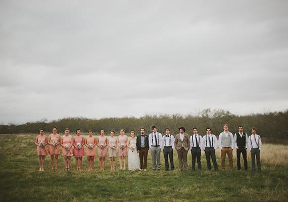 Outdoor Texas farm wedding: Ashley + Adam | Real Weddings | 100
