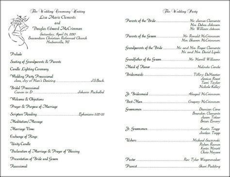 Custom Design, wedding programs, programs for weddings