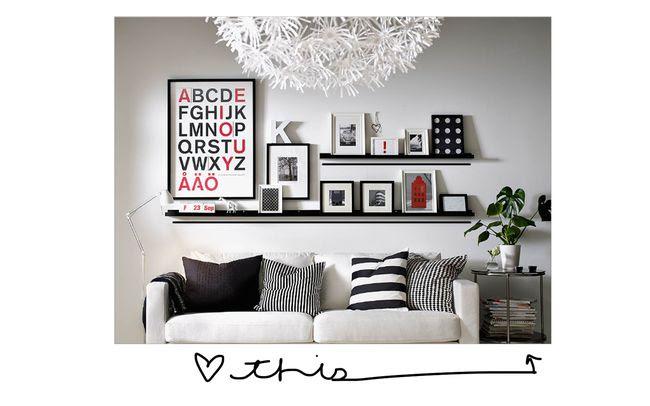 vol.25: interior design inspiration- art groupings
